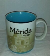 Starbucks Merida Mexico Global Icon Coffee Mug Cup 16 oz NEW Authentic NWT