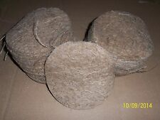 25 PACK OF JUTE NESTING FELTS FOR CAGE & AVIARY BIRDS
