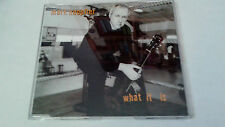 "MARK KNOPFLER ""WHAT IT IS"" CD SINGLE 1 TRACKS"