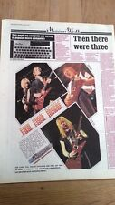 IRON MAIDEN / DEF LEPPARD Ibanez guitars Poster size Press ADVERT 16x12 inches
