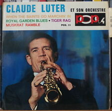 """CLAUDE LUTER WHEN THE SAINTS GO MARCHIN' IN 45t 7"""" FRENCH EP"""