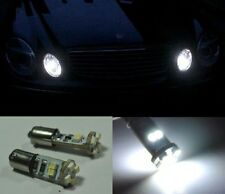 2x BA9S h6w 6000k No Error LED Parking Light Bulbs For Mercedes W210 E55 AMG