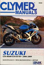 SHOP MANUAL GSXR SERVICE REPAIR SUZUKI BOOK CLYMER GSXR750 GSXR600 HAYNES