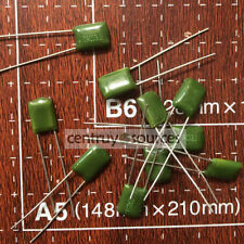 50PCS Polyester Film Capacitor Radial 2A153J 2A153 153 100V 0.015uF 15nF 15000pF