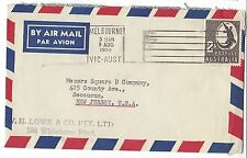 1959 Melbourne to New Jersey USA Cover 2S