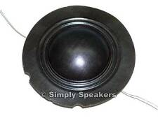 EV  Factory Speaker Diaphragm Electro Voice FR10 FR12 FM12C Tweeter Repair Part