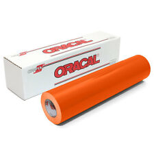 ORACAL 631 Adhesive Backed Matte Vinyl 12in x 10ft Roll - ORANGE