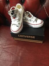 Rare Converse All Star Toddler Boys/girls Mickey Mouse Size Uk6