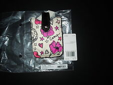 NIP Coach Poppy F61586 Kyra (Floral Graffiti) Scarf Fabric Phone Case