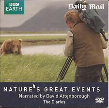 David Attenborough - NATURE'S GREAT EVENTS - THE DIARIES - DVD