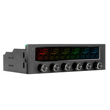 "ThermalTake Commander FT6 RGB Fan Controller Panel 5.5"" Touch Screen - to 6 fans"