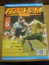 Sep-1993 Team Talk: Issue 26 - The Non-League Football Monthly, Featuring Confer