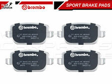 FOR FORD FOCUS 2.5 RS 2009- REAR BREMBO SPORTS PERFORMANCE BRAKE PADS 07.B314.05