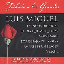 Tributo a Los Grandes Luis Miguel Various Artists MUSIC CD