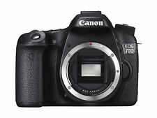 Canon EOS 70D  Digital Camera - Black (Body Only) , with Warranty