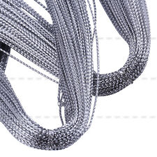 New 100 Meters Shimmery Cord Thread String Craft Silver Golden Red Jewelry Make