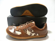 J. SHOES HOOP #2 LOW MEN SHOES BROWN/WHITE 6721 SIZE 8.5 NEW