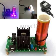 15W DIY  Mini Tesla Coil Plasma Speaker Set Electronic Field Music Project Parts