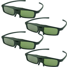4PCS RF/Bluetooth Active Shutter 3D Glasses For Epson 2030 750HD TW8200 TW9100