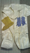 Coverall w/ Boots & Gloves Prepper Pack DUPONT Tychem SL Elastic Wrist/Ankle XXL