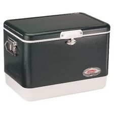 Coleman 54 Quart Steel Belted Cooler Green
