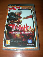 TENCHU SHADOW ASSASSINS PSP ESSENTIALS (PAL ESPAÑA PRECINTADO)