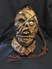 Severed Head on rope - Halloween Prop
