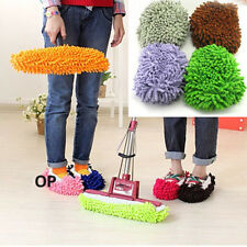 Hot Mop Slippers Floor Polishing Cover lazy Dusting House Cleaner Foot Shoes