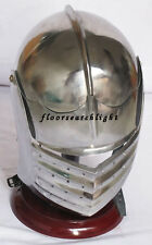 GERMAN MAXIMILLIAN ANCIENT ITALIAN HELMET MEDIEVAL EUROPEAN CLOSED ARMOR HELMET