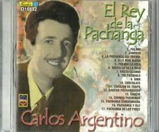 Carlos Argentino El Rey De La Pachanga Latin Music CD New