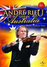 ANDRE RIEU - LIVE IN AUSTRALIA   - DVD - PAL & Region 2 - New