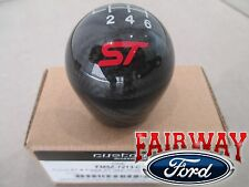 13 thru 16 Fiesta Focus ST OEM Ford Carbon Fiber 6-speed Gear Shift Knob w/ Logo
