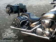 Honda VTX 1300 C, Custom Chrome Rear Crash Bars Guards, Protectors