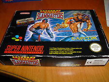 SATURDAY NIGHT SLAMMASTERS - PAL Version - Nintendo SNES - komplett in OVP