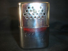 Old Vtg Collectible Jon-E Stainless Steel Hard Warmer