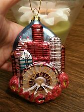 Christmas tree ornament Chicago weel