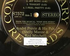 Andre Previn & His Pals / West Side Story Vinyl formerly owned by FRANK SINATRA