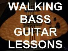 Walking Bass Guitar Lessons Country Rock Blues DVD. A MUST HAVE FOR ALL STYLES!