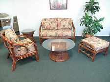 Rattan Living Room Furniture 5PC Set [LOCAL PICK UP ONLY, NO SHIPPING]