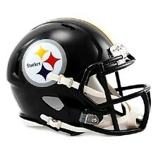 Official NFL Pittsburgh Steelers Speed Mini Helmet Revo 360