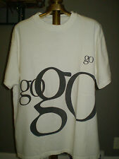 "Apple Think Different Tangerine Clamshell iBook ""Go Go Go"" Logoed Tee Shirt"