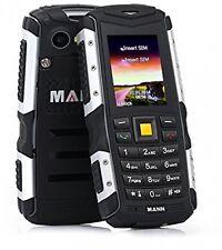 NUOVO MANN ZUG S robusto duro Smart Phone Antiurto antipolvere Impermeabile Grigio