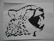 Schablone Leopard2 für Textilg. und v.m.  auf A4