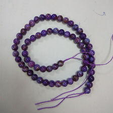 6mm Purple Sugilite beads DIY Crystal Accessories Long chain