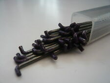 Heidifeathers Twisted / Spiral Felting Needles 10 x 38G  (Purple tip)