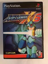 Mega Man X6 - Playstation - Replacement Case - No Game