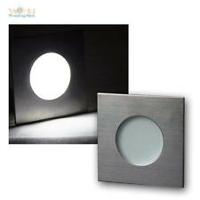 LED built-in light Stainless steel IP44, 12V DC 1.2W, Recessed Spotlight Lamp