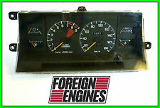 JDM TOYOTA MR2 AW15 AW11 SUPER CHARGER GAUGE CLUSTER 4AGZE