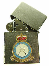 RAF ROYAL AIR FORCE REGIMENT WINDPROOF CHROME PLATED LIGHTER