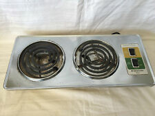 Vintage Dominion Scovill Buffet Range 1457.2  Burners Hot Plate Made in USA